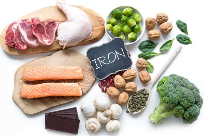 Food that contain iron