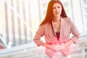 Women suffering from ovarian cysts